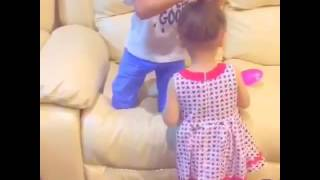 brother sister cute video