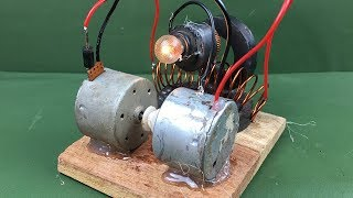 pc mobile Download Awesome diy science technology project - Free energy generator magnetic running dc motors homemade