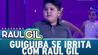 Guiguiba se irrita com Raul Gil e ameaça deixar o programa | Programa Raul Gil (04/02/17)
