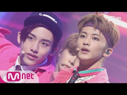 [NCT 127 - Cherry Bomb] Comeback Stage | M COUNTDOWN 170615 EP.528