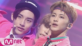 nct 127 - cherry bomb comeback stage  m countdown 170615 ep528
