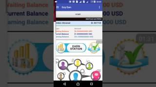 Ezzy Earn part-3 balance transfer to Payza Account.