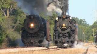 BIG TRAINS in Action #1 | Lots of Trains Pass By | Video for Kids | James Coffey