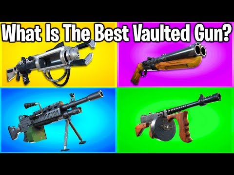 RANKING EVERY WEAPON EVER REMOVED FROM FORTNITE