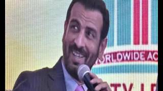 SARKAR 3 Bollywood movie Actor Ronit Roy Interacts with India's No.1 life coach S A Anand.