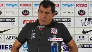 Coletiva Técnico Fabio Carille após derrota  para o Atlético GO