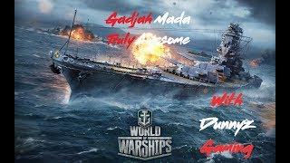 World of Warships Gadjah Mada Truly Awesome!