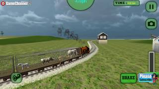 Train Sim Animal Transport / Train Simulator / Children / Baby / Android Gameplay Video