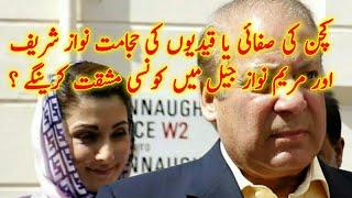 Nawaz Sharif and Maryam Nawaz Current Situation In Jail