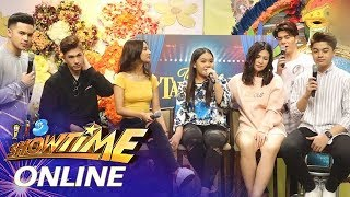 It's Showtime Online: Rocelle Solquillo shares a photo with Remy Luntayao