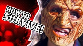 HOW TO SURVIVE A HORROR MOVIE (BTS)
