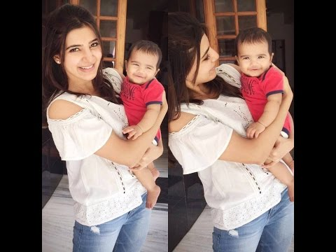 Actress Samantha Unseen Family Personal Video !!