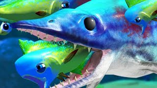 MAHI MAHI vs MARINE REPTILE ICHTHYOSAURUS - Feed and Grow Fish - Part 55 | Pungence