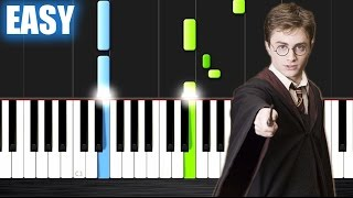 Harry Potter: Theme Song (Hedwig's Theme) - EASY Piano Tutorial by PlutaX - Synthesia