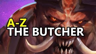 ♥ A - Z The Butcher - Heroes of the Storm (HotS Gameplay)