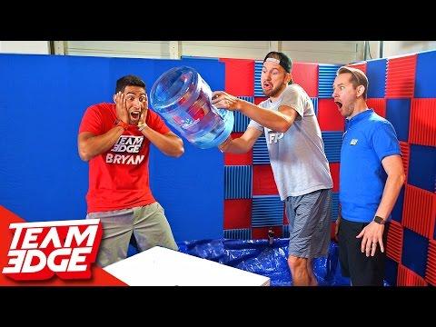 Water Bottle Flip Challenge 💦