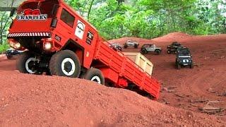 Download 10 Scale Trucks offroad RC 4x4 Adventures - Man Kat scx10 land rover defender 110 rc4wd hilux 3Gp Mp4