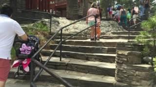 Fun Mount Rushmore main trial 2016 kid friendly not stroller friendly