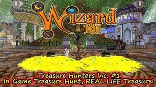 Wizard101 Treasure Hunters Inc #1 Fun Hunts, Cool Free Crowns Prizes