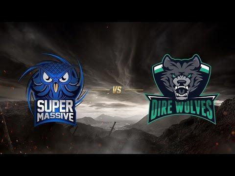 SuperMassive eSports ( SUP ) vs Dire Wolves ( DW )   MSI 2017 Ön Eleme 1. Gün