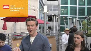 Will Poulter outside the Midsommar Premiere at the ArcLight Theatre in Hollywood