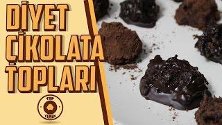 Diyet Çikolata Topları | Fit Yemek