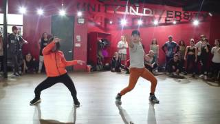 Sean Lew & Bailey Sok | Burn up the dance | Choreography by Kyle Hanagami