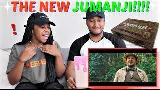 JUMANJI: WELCOME TO THE JUNGLE - Official Trailer (HD) REACTION!!!!