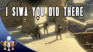 Sniper Elite 3 - I Siwa you did there - Make officer's death look like an accident (Mission 5)