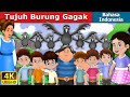 Download Video Tujuh Burung Gagak | The Seven Crows in Indonesian | Indonesian Fairy Tales 3GP MP4 FLV