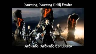 Hammerfall - Hearts On Fire (Subtitulos)