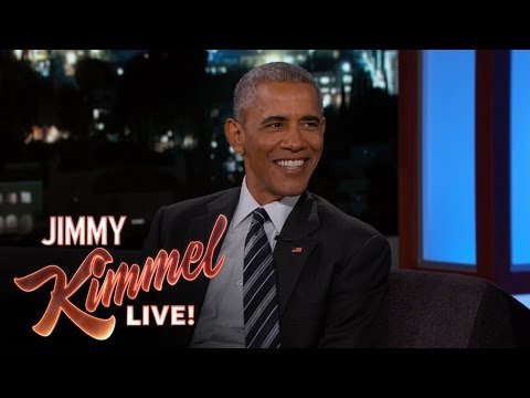 watch President Obama Laughs at Trump