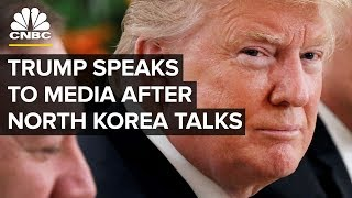 President Trump Holds News Conference Following North Korea Summit