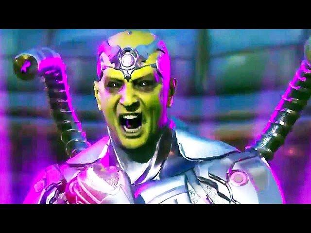 INJUSTICE 2 - Brainiac Gameplay Trailer (PS4, Xbox One)