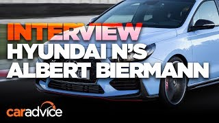 Hyundai i30 N: We interview N boss Albert Biermann