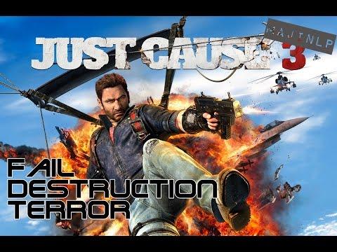 Fail Destruction Terror ► XXX Se* mit Greifhaken ► Just Cause 3 #002