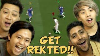 BEST HANDICAPPED FIFA MATCH (3 VS 1)
