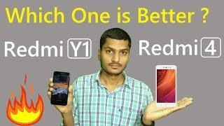 Xiaomi Redmi Y1 Vs Redmi 4 Comparison and specification Not A Review in Hindi   Best Budget phones ?