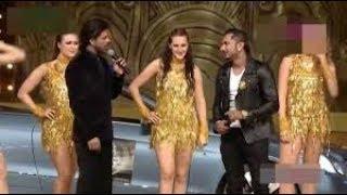 Shahrukh khan fun with yo yo honey singh in award show