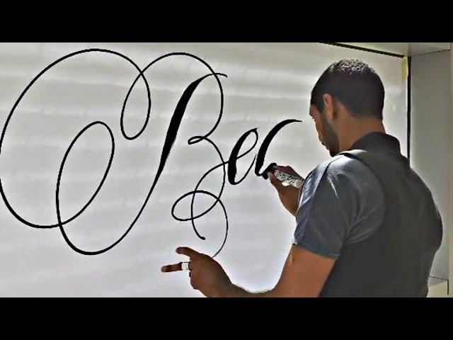 The Most Satisfying Calligraphy Video Compilation! #5