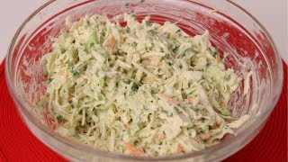 Homemade Coleslaw Recipe - Laura Vitale - Laura in the Kitchen Episode 416