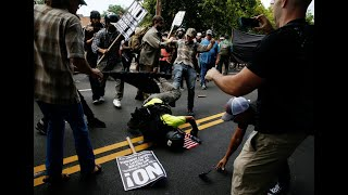 White nationalist rally brings clashes in Charlottesville