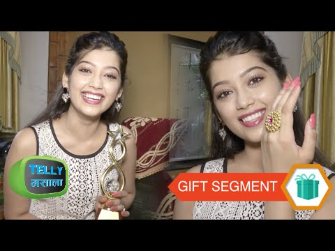 Gift Segment: Digangana Suryavanshi Receives Gifts From Fans | Part 1