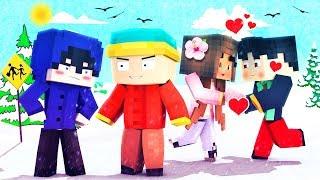 Minecraft - South Park - CARTMAN FARTS ON MY GIRLFRIEND!
