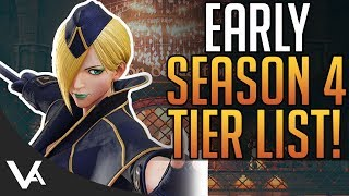 SFV - Early Season 4 Tier List! Who Are The Best Characters In Street Fighter 5 Arcade Edition
