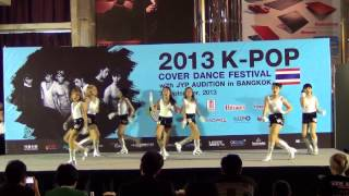 130907 SMP3 cover T-ara - Sexy Love + Lovey Dovey @2013 K-POP COVER DANCE FESTIVAL