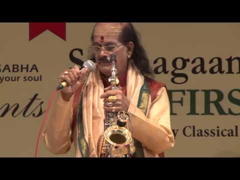 2015 - Concert by Dr. Kadri Gopalnath - Part One