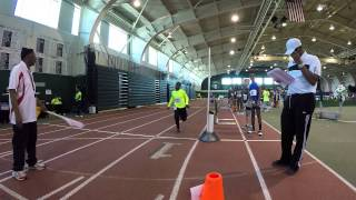 2015 AAU Track and Field 14-Under Youth Indoor National Championships- TIME LAPSE