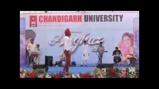 AMMY VIRK LIVE 2016 / CHANDIGARH UNIVERSITY   PART 1