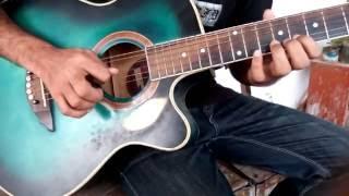 Amar sonar bangla guitar lesson